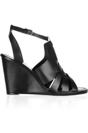 Pour La Victoire Isadora leather wedge sandals was 250 is 135