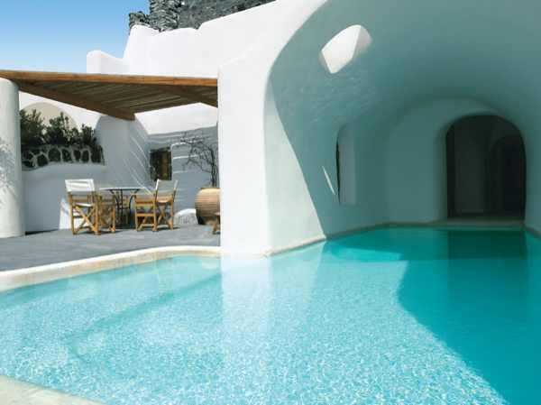 Santorini, Perivolas Suites hotels swimming pool house pool