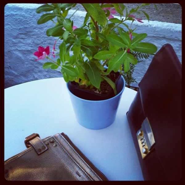 Skopelos view Thalassa,  woman Chloe clutch