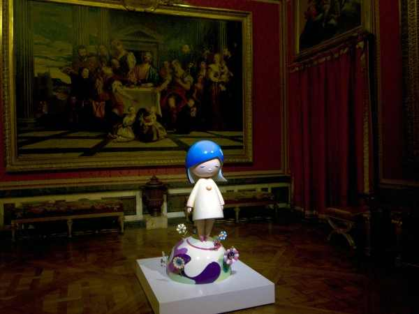 Contemporary Art Exhibition in The Palace of Versailles, Murakami