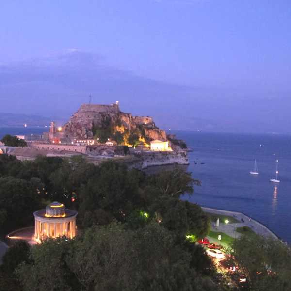 View Cavalieri Hotel, Corfu Town Architecture