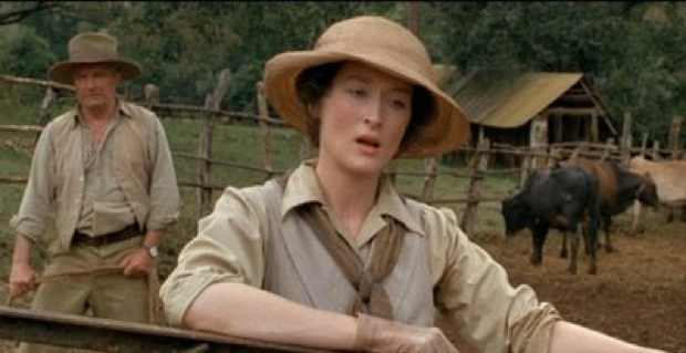 Meryl Streep Out of Africa style Outfit