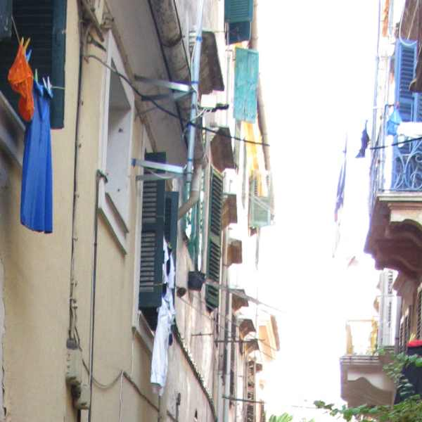 buildings, Corfu