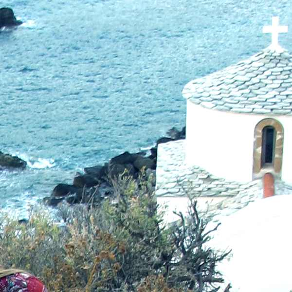 Skopelos Town church