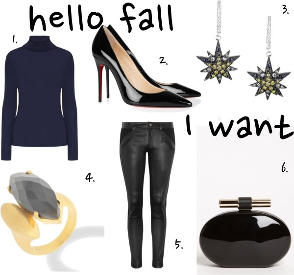 hello Fall I want black and gold