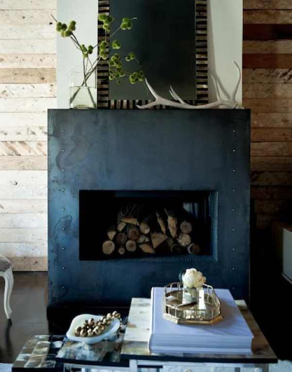 jamie-laubhan-wood-wall_metallic fireplace,  Two Art Directors