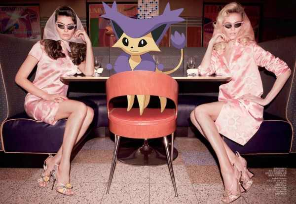 Pokemon Cartoon fashion mania