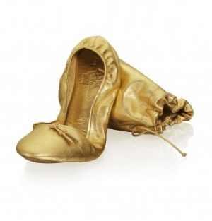 Anna Dello Russo for H&M ballerina flats 49.95 euro