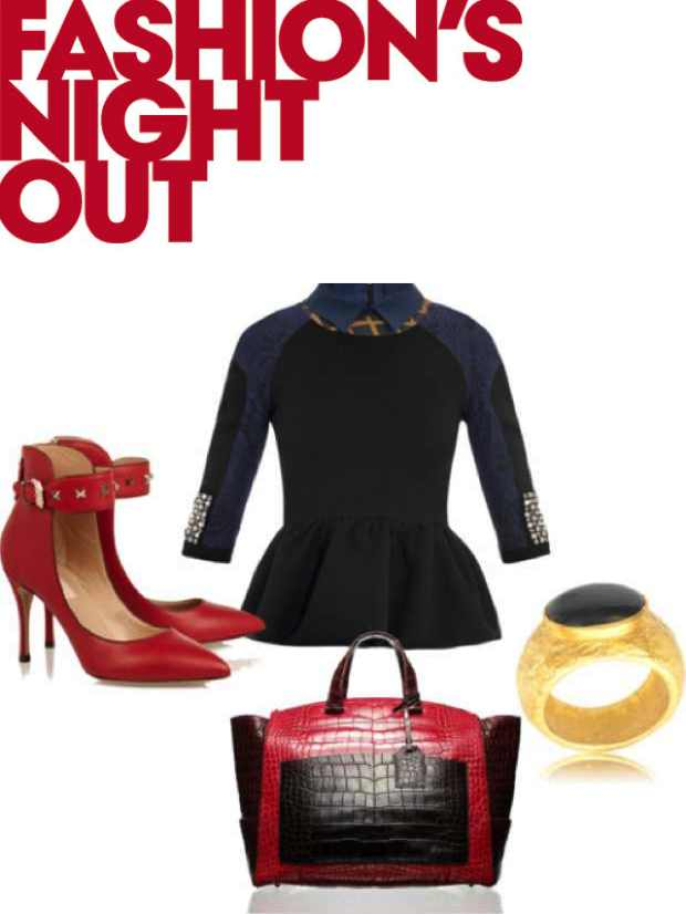 FNO RED AND BLACK COLLAGE
