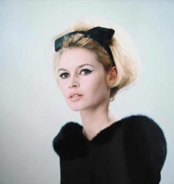 Brigitte Bardot black eyeliner inspiration