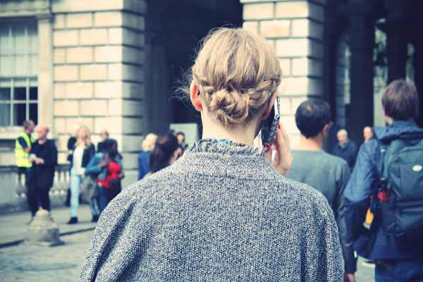 New York Fashion Week Street Style Braids