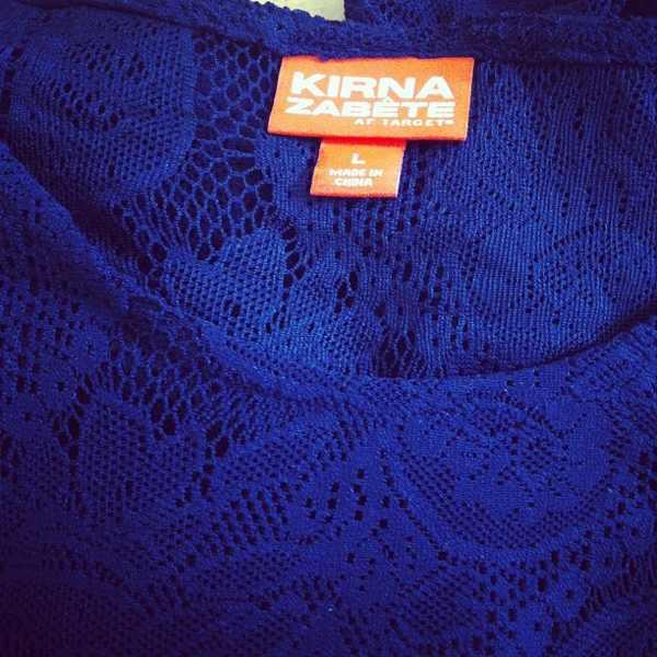 Kirna Zabete Target Lace top
