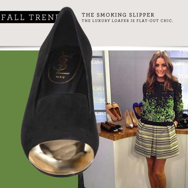Olivia Palermo YSL slippers Trendsurvivor