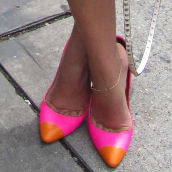 Sergio Rossi pink stiletto