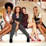 Solange Knowles, Diane von Furstenberg, Allison Williams and Meredith Melling Burk
