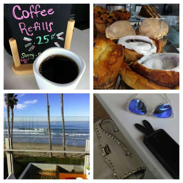 Caroline's cafe Collage