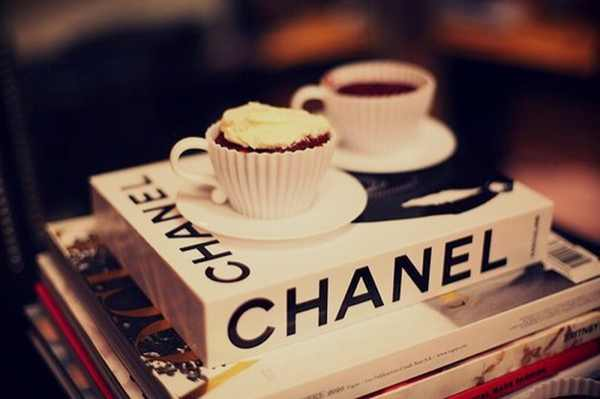Chanel books coffee