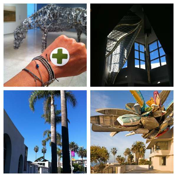 Contemporary Art La Jolla Museum Collage