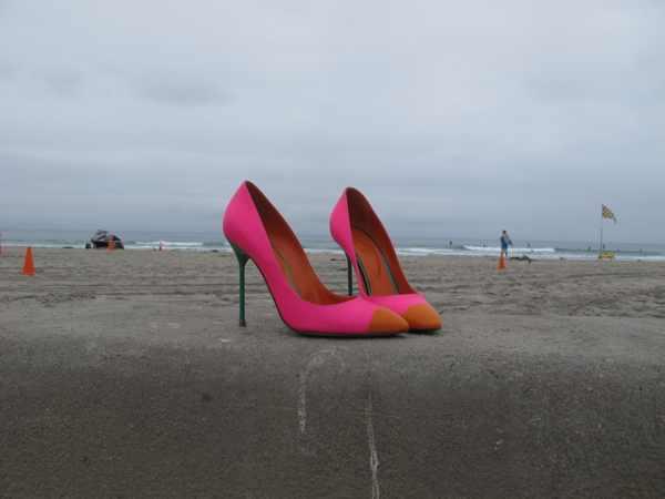 Sergio Rossi Pink Stiletto Pumps