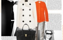 Working Girl Outfit Inspiration- Icelle's Orange Pop