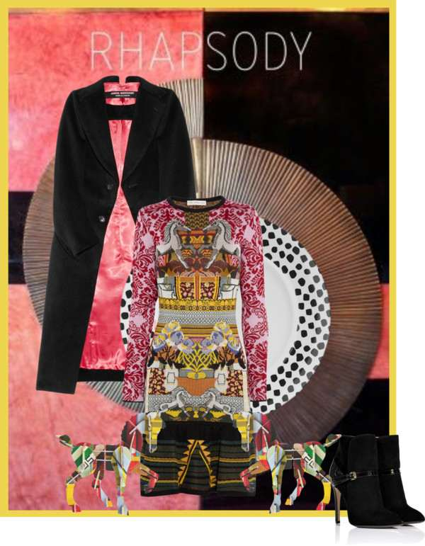 Icelle's Styling tips Collage Rhapsody