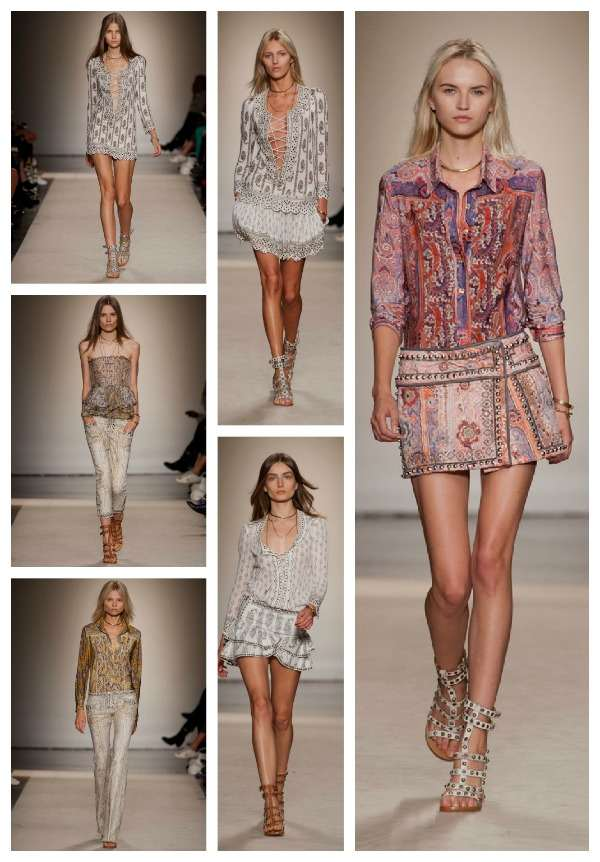 Isabel Marant 2013 SS TRENDSURVIVORCollage
