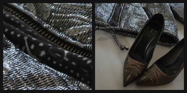 Isabel Marant Jacket Prada shoes Collage