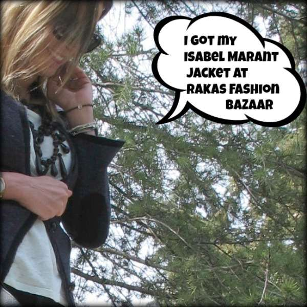 Isabel Marant Jacket Rakas Fashion Bazaar Trendsurvivor
