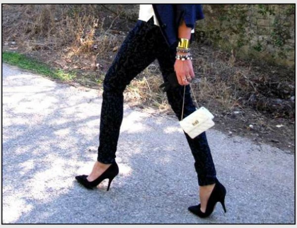 Isabel Marant Jacket,  Baroque Brocade Pants jBrand, Chanel bag