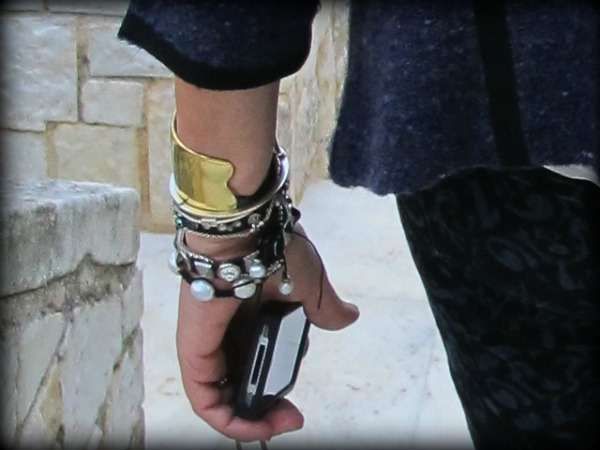 Isabel Marant jBrand bracelets