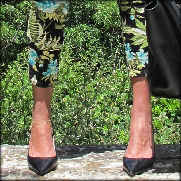 Jimmy Choo kitten heels,