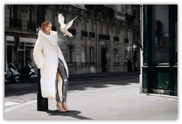 Maison Martin Margiela For H&M Collection white coat