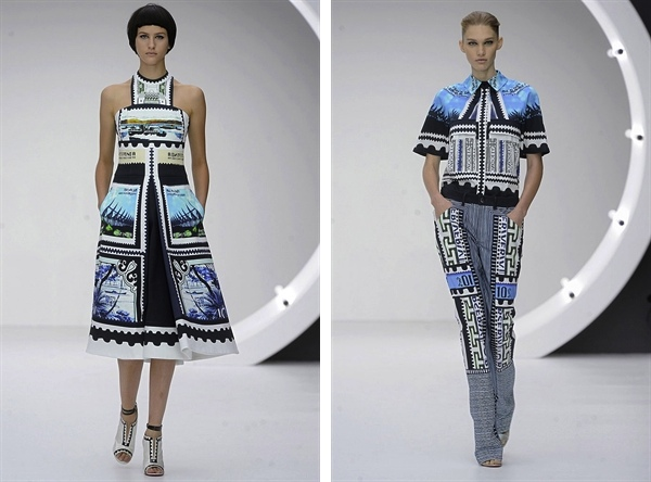 Mary Katrantzou 2013 S:S Fashion Week