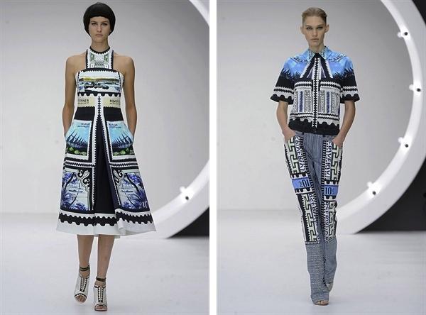 Mary Katrantzou 2013 S:S Fashion Week