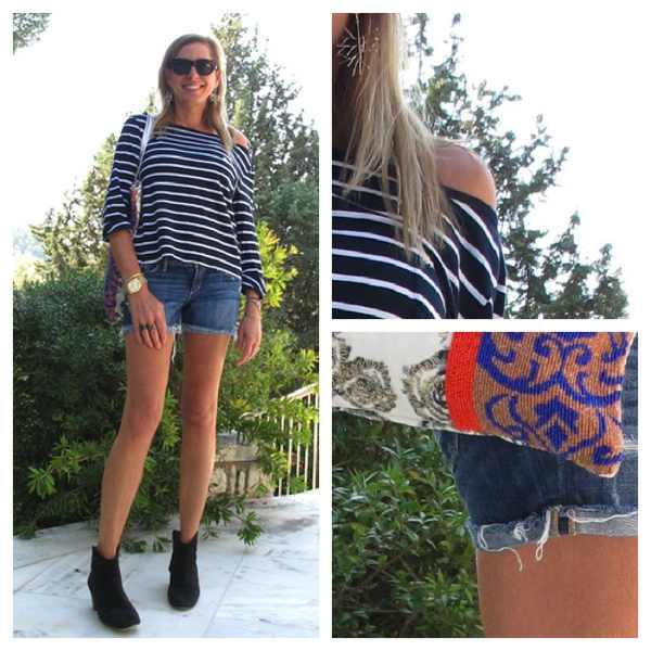 Mixing prints,  Isabel Marant boots Collage