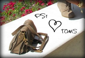 PS1 loves TOMS