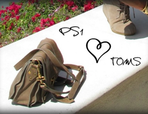 PS1 Proenza Schouler  loves TOMS