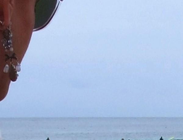 Profile, Oakley sunglasses, serf