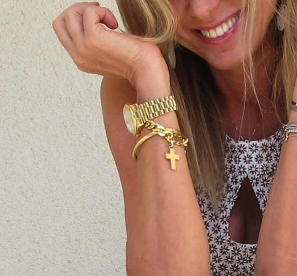 Rolex gold, Trendsurvivor outfit, Retro Style Peplum Top
