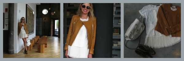 IRO leather jacket outfit