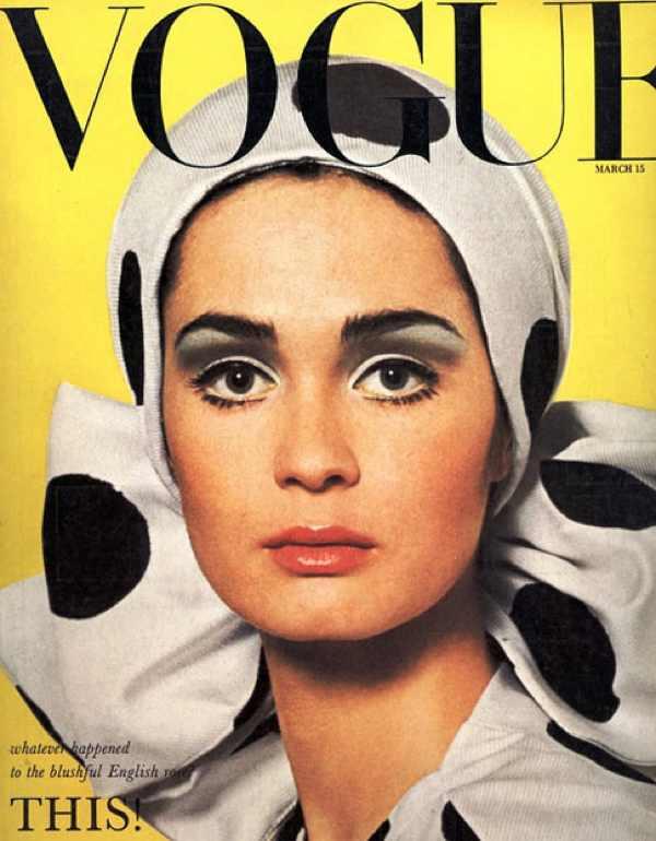 Vogue retro polka dots