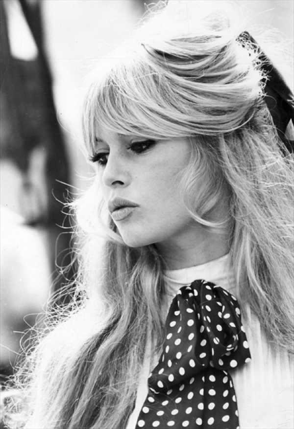 brigitte bardot polka dots