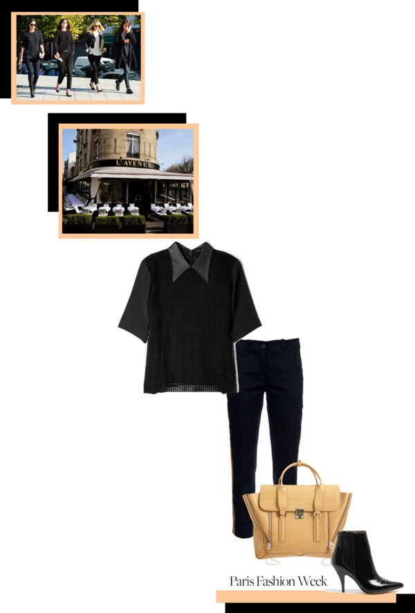 Outfit chic idea Paris Fashion Week