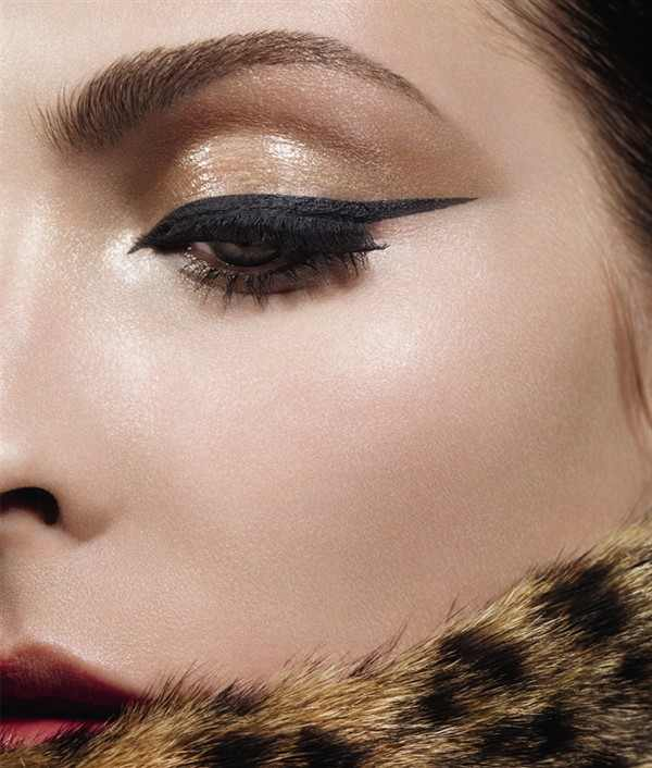 Dramatic eyeliner by Dior