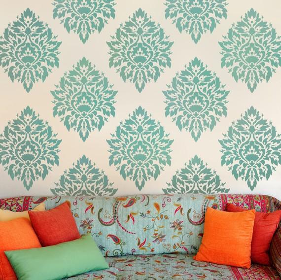 orange pillows interior decor