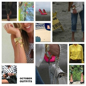 October Outfits Collage Street style