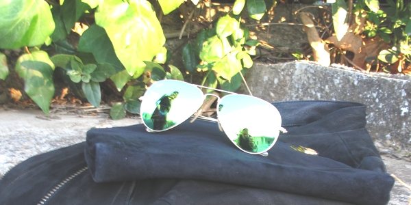 AF and Trendsurvivor Aviator Rayban green
