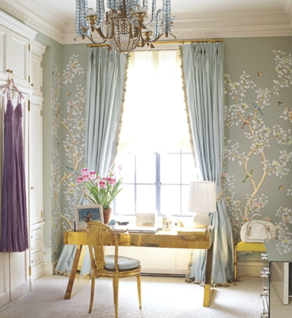 Aerin Lauder's Zinterhofer dressing room