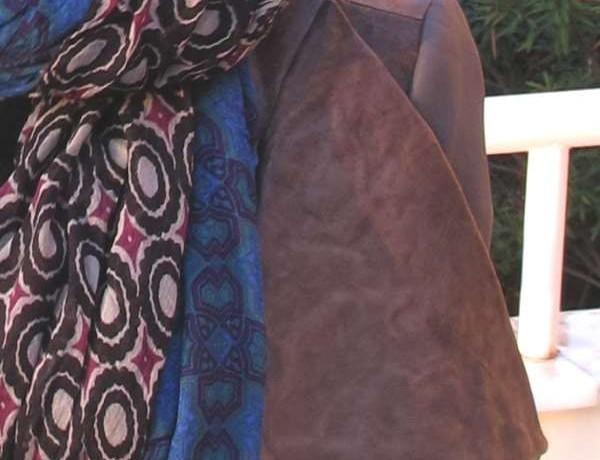 Rick Owens jacket detail