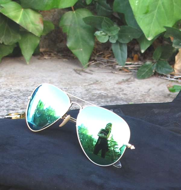 Ray-Ban Aviator green